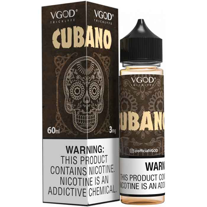 VGOD Cubano E Juice - 60ml - Vaping UAE - Vape Shop Abu Dhabi