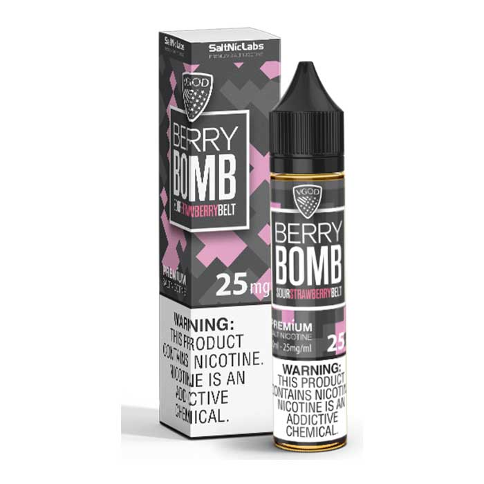 VGOD Berry Bomb SaltNic - 30mL - Vaping UAE - Abu Dhabi Vape E Juice Shop