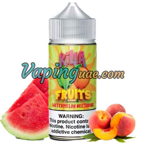 Watermelon Nectarine - Killa Fruits E-Liquid - 100mL - Vaping UAE