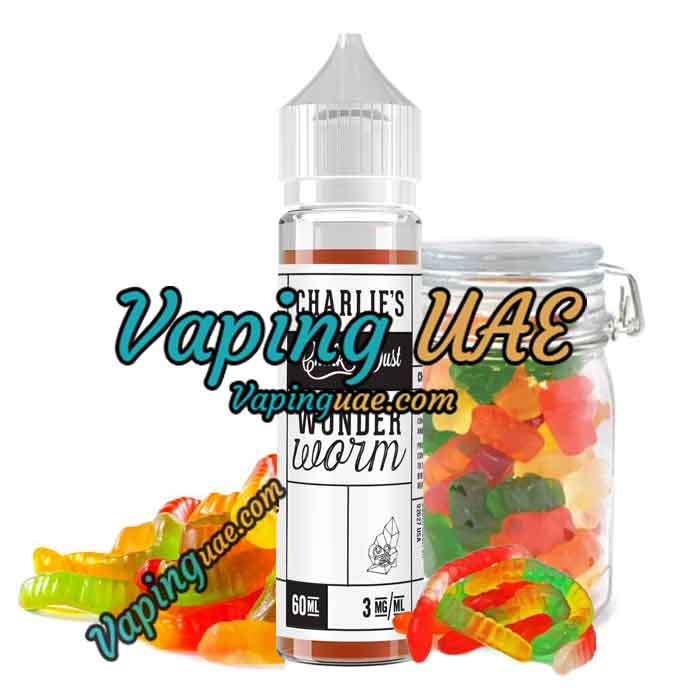 Wonder Worm - Charlie's Chalk Dust E Juice - 60mL - dubai vape souq