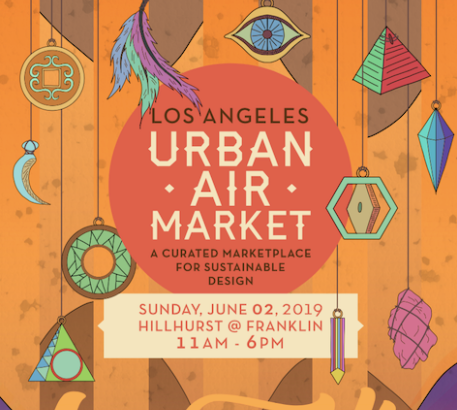 Urban Air Market LA in Los Feliz June 2