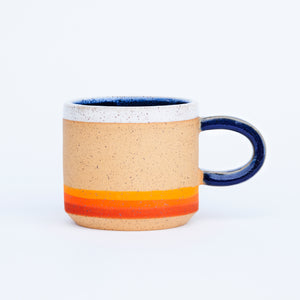 Camping at Sunset Mug
