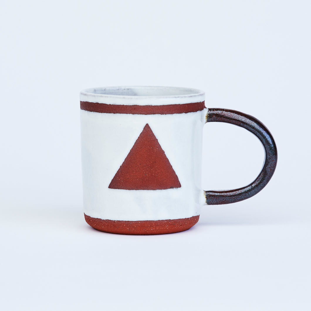 White Triangle Mug (seconds)
