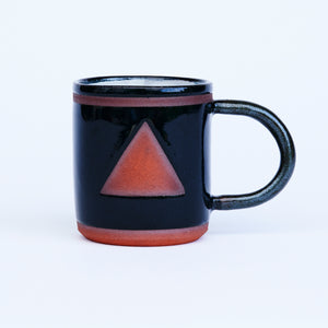 Black Triangle Mug