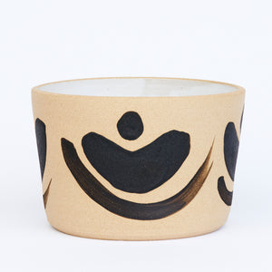 Black Bamboo Planter