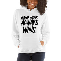 White SPLASH Unisex Hooded Sweatshirt