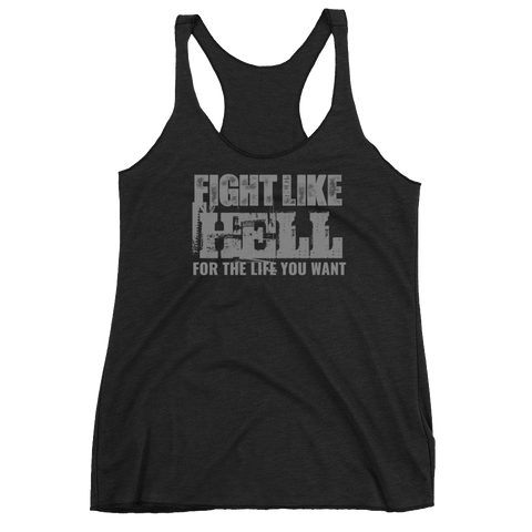FIGHT LIKE HELL Women's Tank Top