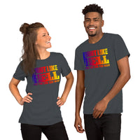 FIGHT LIKE HELL Splash T-Shirt