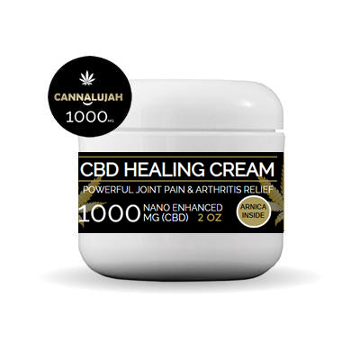 Healing Cream 1000mg Hemp Extract (Nano Enhanced)