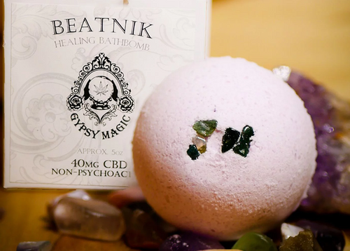 Beatnik CBD Bath Bomb