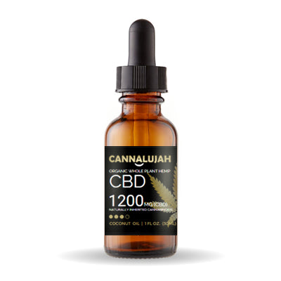 1200mg Cannalujah Whole Plant Hemp Oil And Full Spectrum CBD Oil