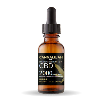 2000mg Cannalujah Full Spectrum Whole Plant CBD Oil