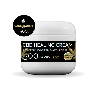 Cannalujah™  Healing Cream 500mg Hemp Extract (NANO ENHANCED)