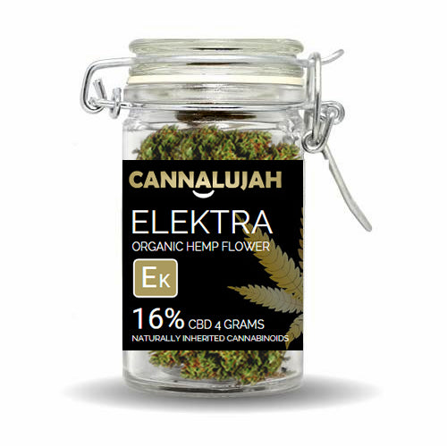 CBD HEMP FLOWER ELEKTRA (16% CBD - 4 GRAMS)