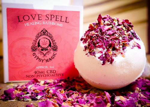 Love Spell CBD Bath Bomb