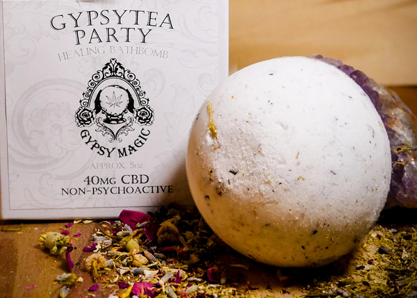 Gypsy Tea Party CBD Bath Bomb