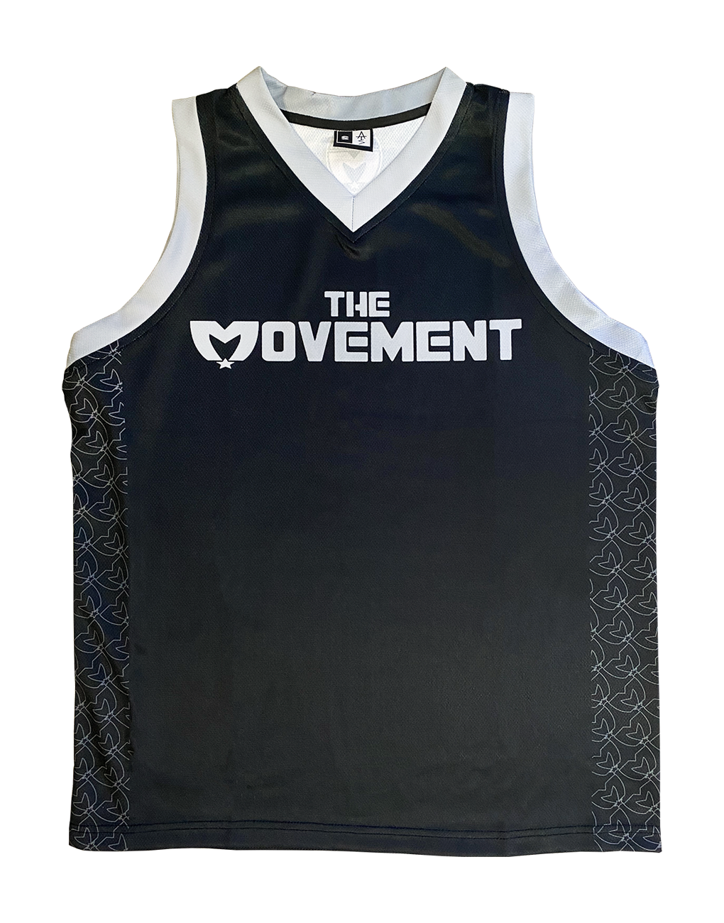 THE MVMT Basketball Jersey (Black)