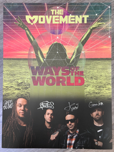 SIGNED Ways Of The World Poster