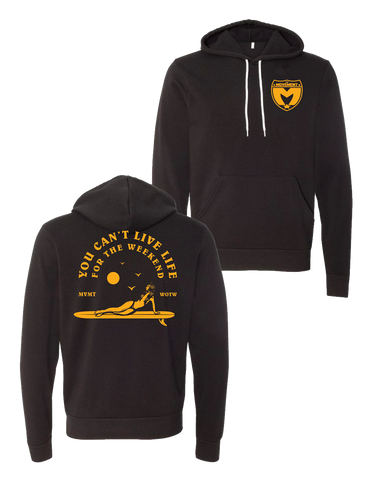 Live Life Surfer Pullover Hoodie