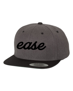 Ease Snapback (Grey & Black)