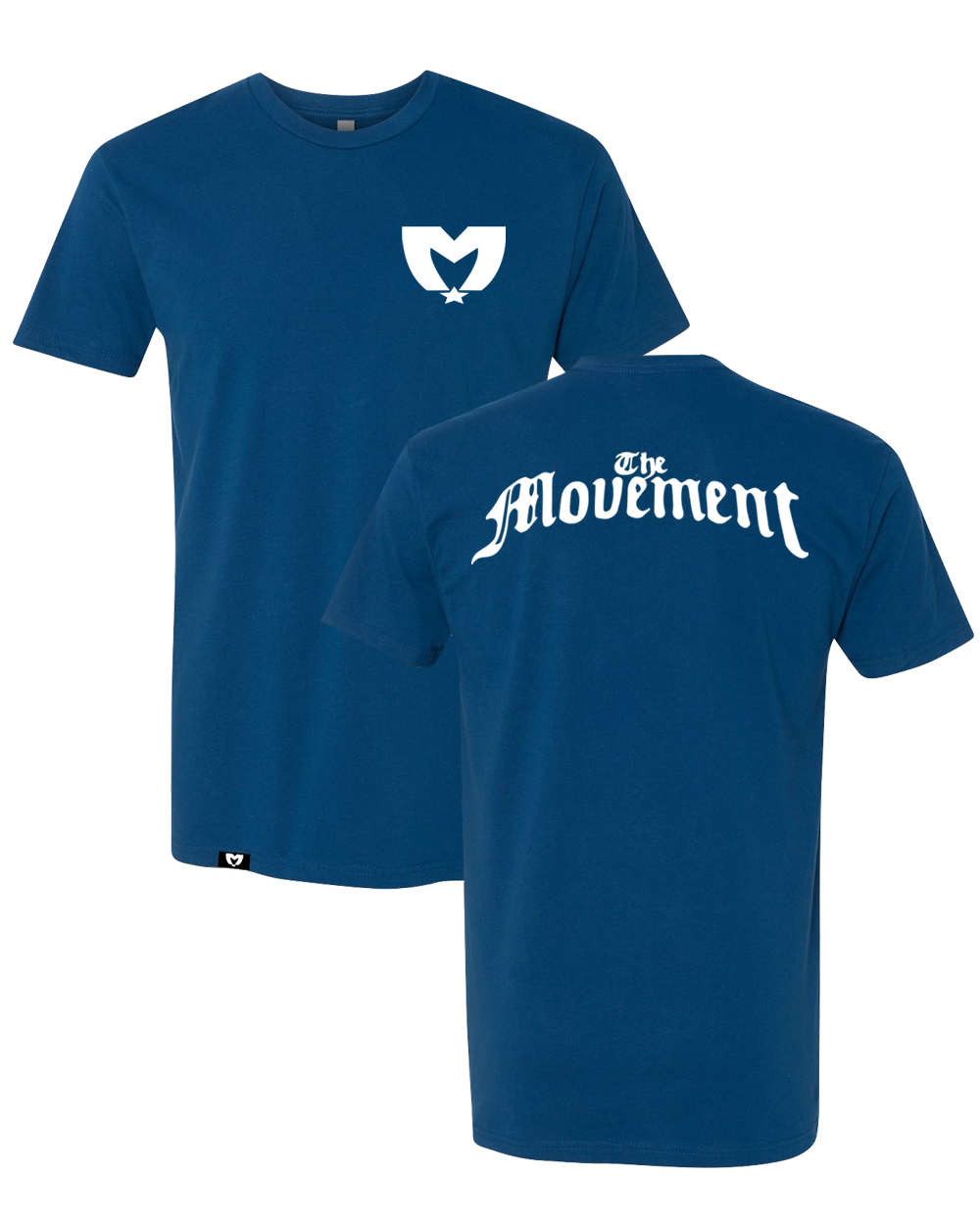 Arched Logo Tee (Cool Blue)