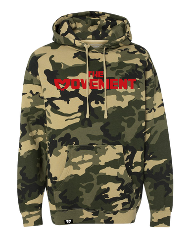 Logo Pullover Hoodie (Army Camo)