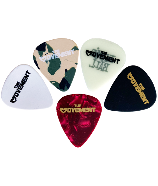 MVMT Guitar Pick Pack