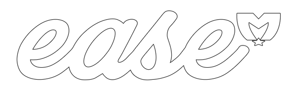 Ease Decal (White)