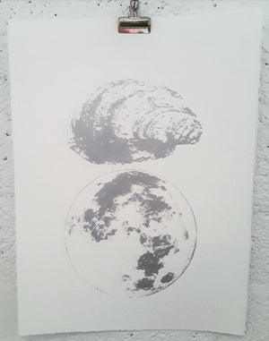 Oyster Moon no. 1