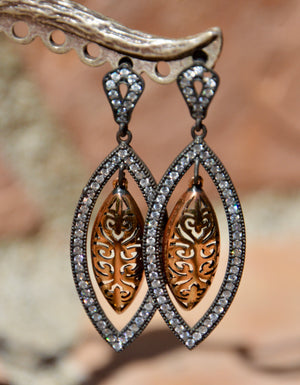 Turkish Ornate Earrings