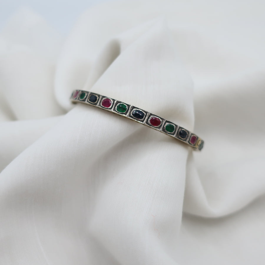 Fine Gemstone Bangle Bracelets