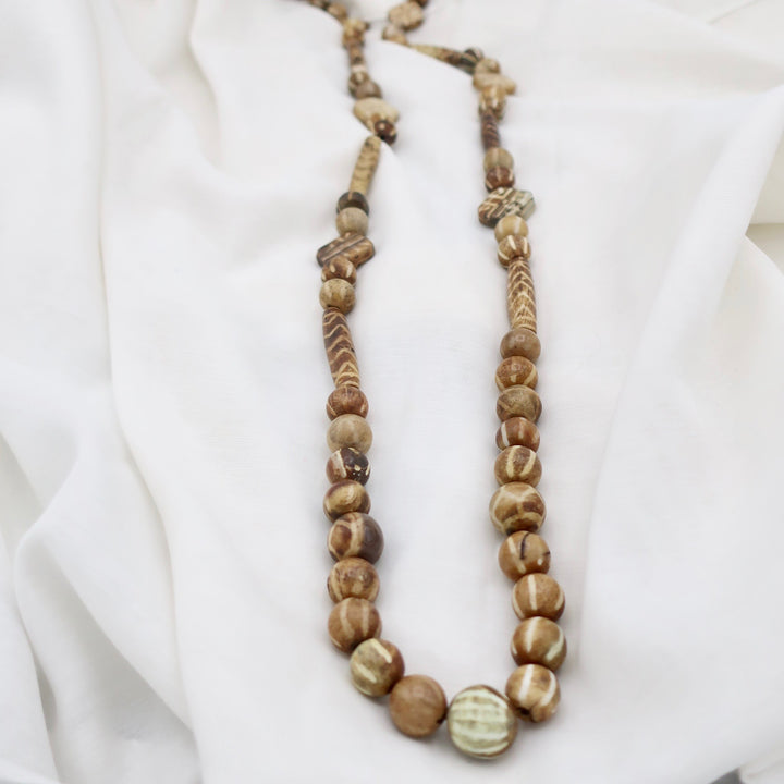 Natural Handcrafted Bead Necklace