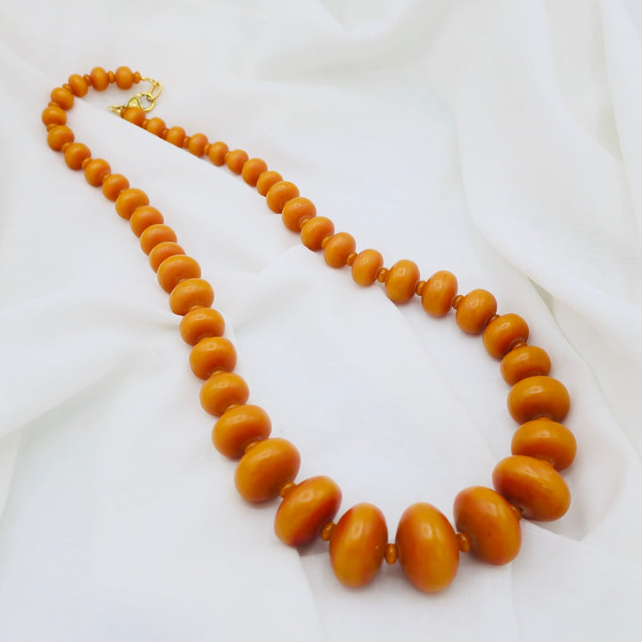 Long Baltic Amber Necklace