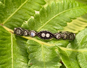 Vintage Style Stack Ring