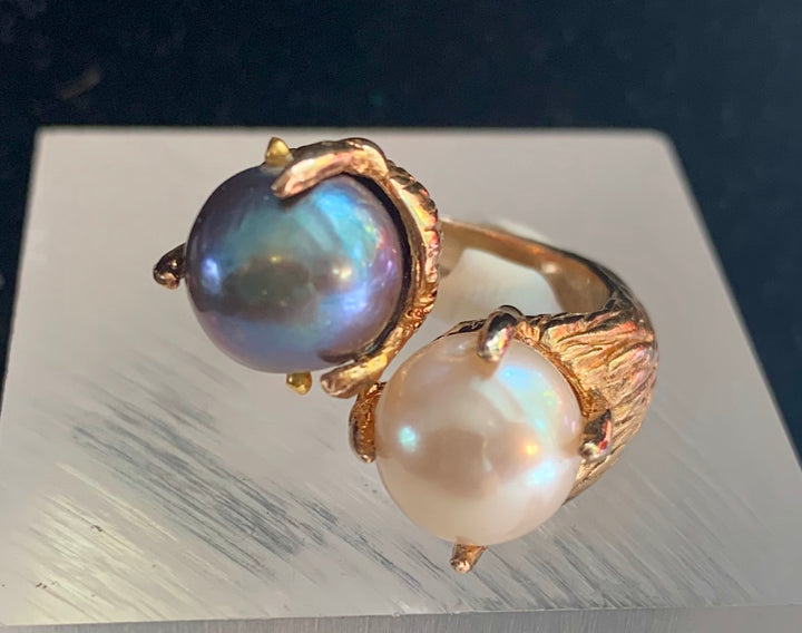 Pearl Duo Ring