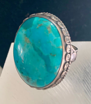 Large Turquoise Ring