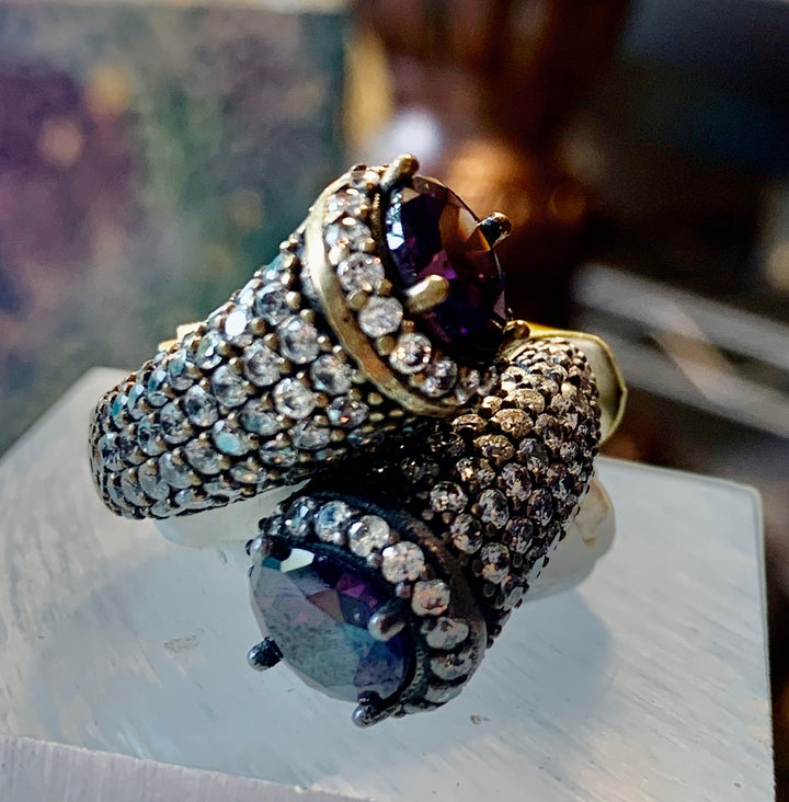 Unique Turkish Amethyst Ring
