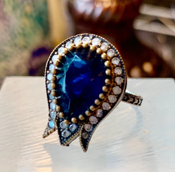 Turkish Pomegranate In Blue Ring
