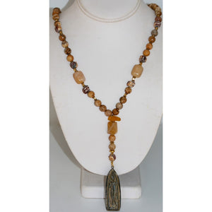 Female Buddha Necklace