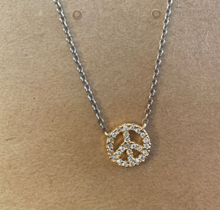 Crystal Peace Sign