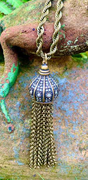 Bronze Turkish Tassel Pendant