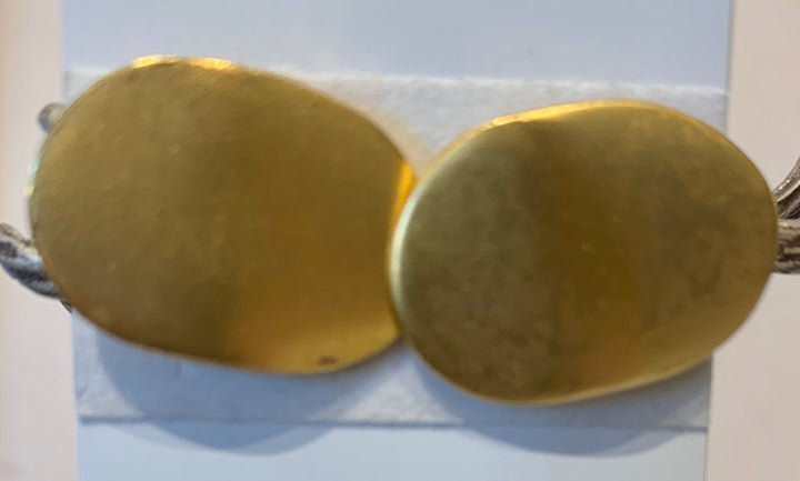 Sale Brushed Gold Earrings