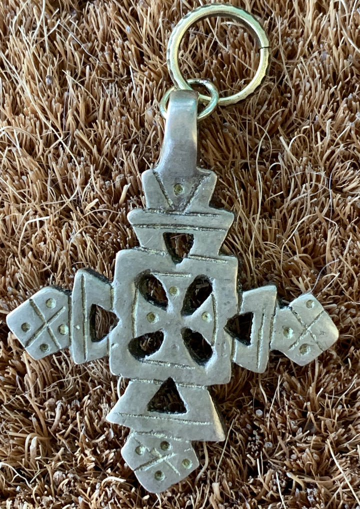 Bronze Celtic Cross Charm