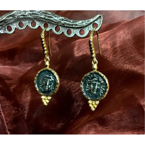 Gold Small Coin Dangles