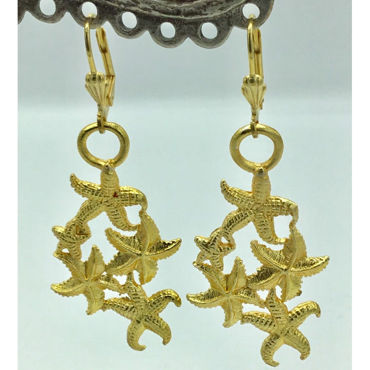 SALE-Cluster of Starfish Earrings