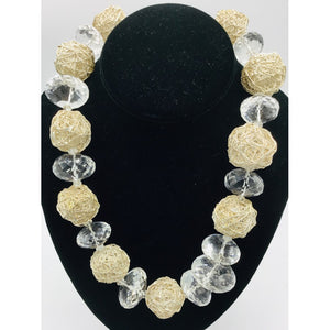 Crystal bold Necklace
