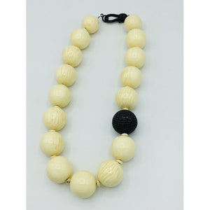 Ivory Colored Bold Necklace