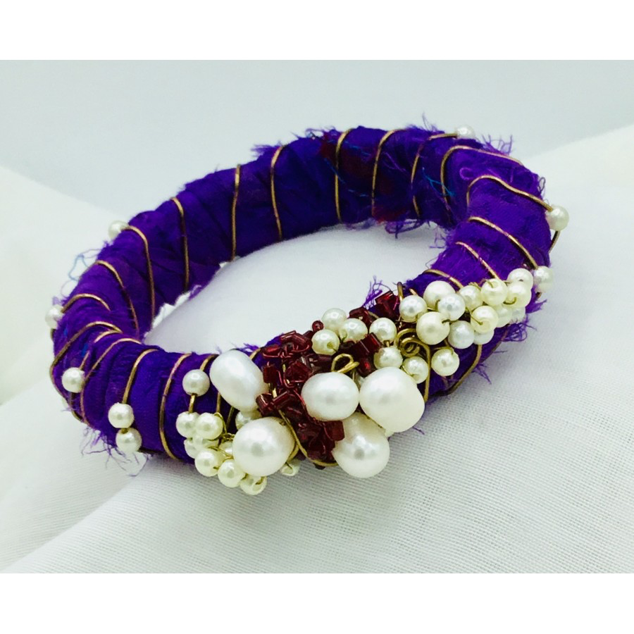 Silk Saree Bangle Bracelets