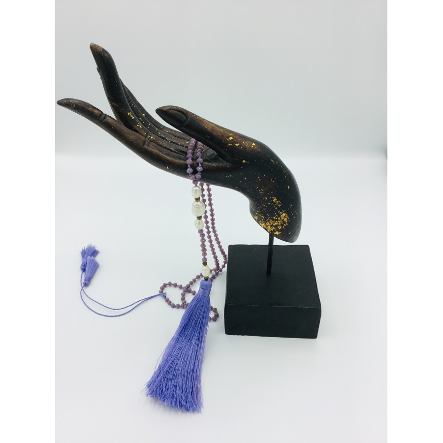 SALE - Long Tassel Necklace
