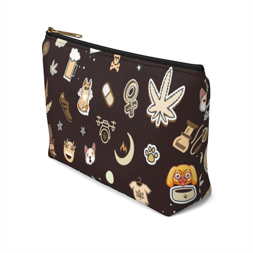 Cannabis Makeup Bag (Cafe) - Nine41